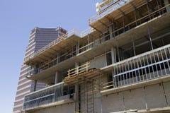 Construction Zone in Downtown Tucson Arizona. Modern building construction in progress in downtown Tucson, Arizona, USA Stock Photo