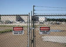 Construction Zone Royalty Free Stock Photo