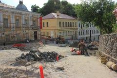 Construction zone Stock Photo