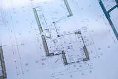 Constructional drawing stock images