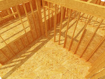 Constructione site wood Stock Image