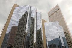 Constructions à Calgary, Canada Photo libre de droits