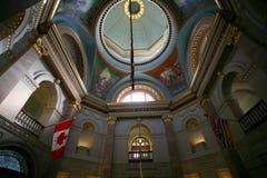 constructions à l'intérieur du parlement Image stock