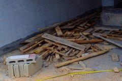Constructions à la maison Photos stock