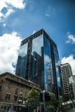 Constructions à Melbourne Photographie stock