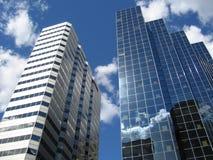 Constructions à Montréal Image stock