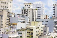 Constructions à Sao Paulo, Brésil Photo stock