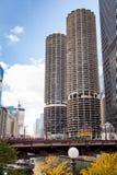 Constructions Chicago Photos libres de droits