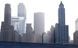 Constructions Chicago du centre Photo libre de droits
