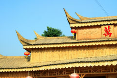 constructions chinoises Photo stock