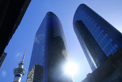 Constructions d'affaires Photos libres de droits