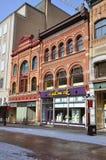 Constructions d'antiquité dans la rue d'étincelles, Ottawa Image stock