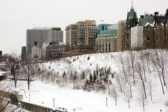 Constructions d'Ottawa Images stock