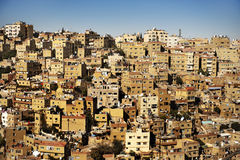 Constructions dans la ville d'Amman, Jordanie Photo stock