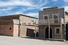 Constructions dans une vieille ville américaine Images stock