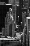Constructions de Chicago Photos stock