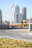 Constructions de corporation à Dubaï Photo stock
