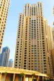 Constructions de corporation à Dubaï Image stock