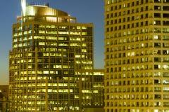constructions de corporation Photographie stock