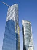 Constructions de corporation dans la construction, Madrid Photographie stock