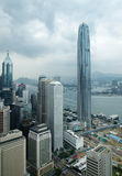 Constructions de film publicitaire de Hong Kong Image libre de droits