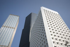 Constructions de Hong Kong Photo stock