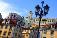 Constructions de Lisbonne Images stock
