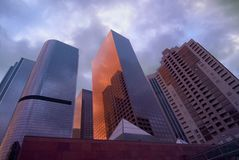 Constructions de Los Angeles Photo stock