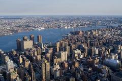 Constructions de Manhattan Photographie stock libre de droits