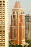 Constructions de Mumbai Photos libres de droits