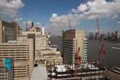 Constructions de New York photo stock