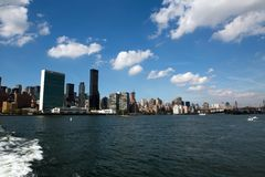 Constructions de New York photo libre de droits