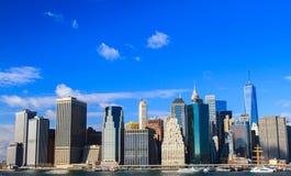 Constructions de New York images libres de droits