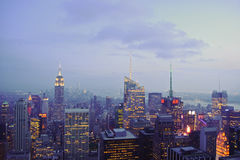 Constructions de New York City Photographie stock libre de droits