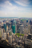 Constructions de New York City Photos stock