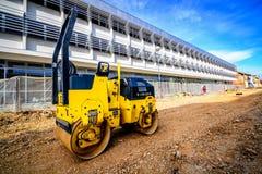 Constructions de routes Photographie stock