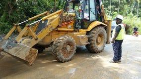 Constructions de routes image libre de droits