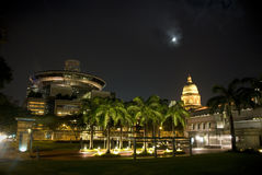 Constructions de Singapour Photographie stock libre de droits
