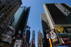 Constructions de Times Square Photo libre de droits