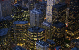 Constructions de Toronto Images stock