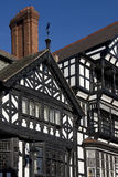 Constructions de Tudor - Chester - Angleterre Photos stock
