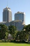 Constructions de ville Image stock