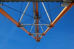 Constructions of dragline Stock Photo
