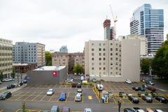 Constructions du centre de Portland Orégon Photographie stock libre de droits