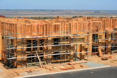 Constructions en construction images libres de droits