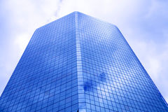Constructions en verre Photo stock