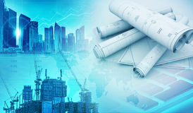 Constructions and engineering concept background Royalty Free Stock Photography