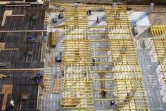 Constructions et ouvriers Image libre de droits