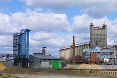 Constructions granary Royalty Free Stock Image