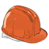 Constructions helmet icon. Royalty Free Stock Photography